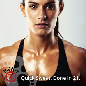 Quick sweat. Done in 21.